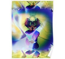 6103i Orchid Abstract Poster