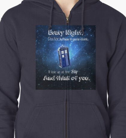 I'll think of the Doctor Zipped Hoodie