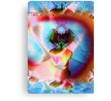 6103ry Orchid Abstract Canvas Print