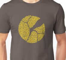 Breaking Bad Cracked Plate - Yellow Unisex T-Shirt
