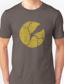 Breaking Bad Cracked Plate - Yellow T-Shirt