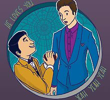 Klaine Proposal by Liz Avery