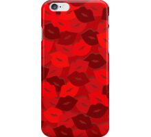 Rose Petal Lips iPhone Case/Skin