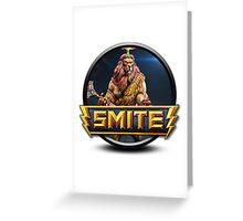 Smite Anhur Logo Greeting Card