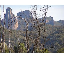 Approaching the High Tops. Warrumbungle National Park. Photographic Print