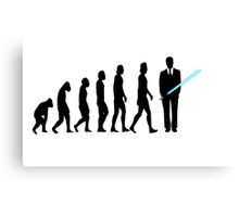 Evolution to Star Wars Canvas Print