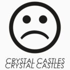 Crystal Castles Sad Face by ernieandbert