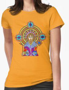 Celtic Illumination - St. John Womens Fitted T-Shirt