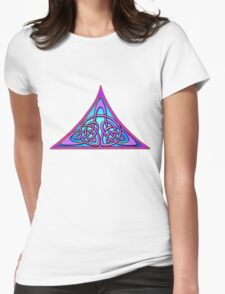 Celtic Illumination - Trinity Womens Fitted T-Shirt