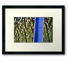 blue river Framed Print