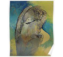Grey Parrot Poster