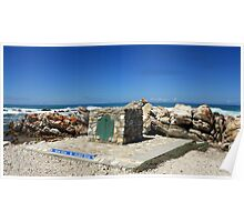 The Southernmost tip of Africa Poster