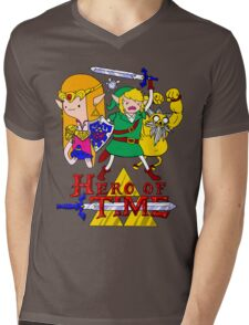 Hero of Time! Mens V-Neck T-Shirt