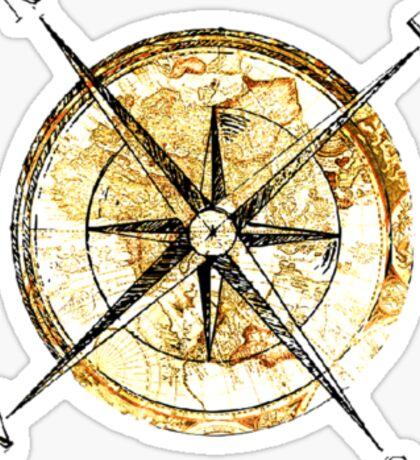 """Compass"" Sticker"