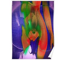 6124vry Orchid Goddess Poster