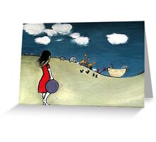 There's a storm coming  Greeting Card