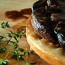 Mushroom Tarte Tatin by David Mellor