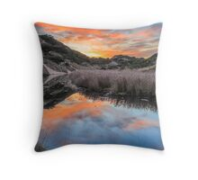 Dune Creek Sunrise Throw Pillow