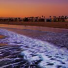 Venice Beach Sunset by DDMITR