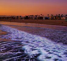 Venice Beach Sunset by DDMITR