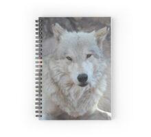wolf sass Spiral Notebook