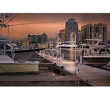 Town Docks Photographic Print