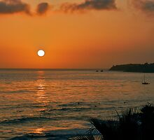 Sunset Drama by Joni  Rae
