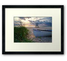 Palm Beach Sunrise Framed Print