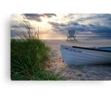 Palm Beach Sunrise Canvas Print