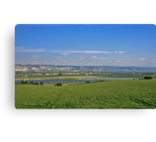 Pools at the Galilee Canvas Print