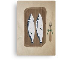 fish illustration Canvas Print
