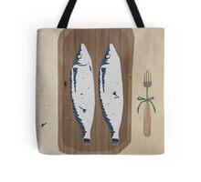 fish illustration Tote Bag