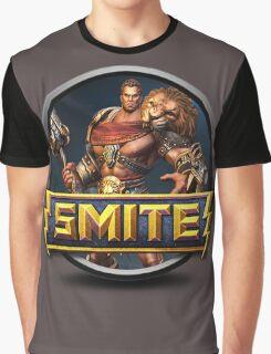 Smite Hercules Logo Graphic T-Shirt