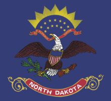 North Dakota Flag by cadellin