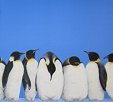 P-P-P-Penguin Line by LucyOlver