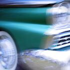 Ford Galaxie green Gingin Jive spin by Melissa Moffat