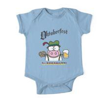 Oktoberfest - KINO, beer and Pretzel! One Piece - Short Sleeve