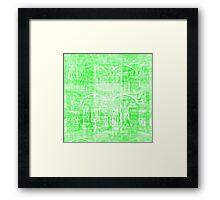 Gradual kickoff meets recurrant yon bash currency. Framed Print