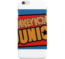 Donkey Kong JR Arcade iPhone Case/Skin
