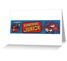 Donkey Kong JR Arcade Greeting Card