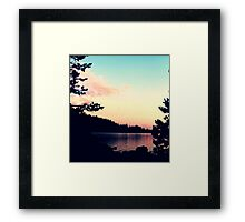 Lake Alpine Framed Print