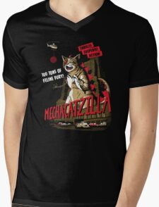Mecha-Catzilla V2 Mens V-Neck T-Shirt