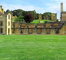 Port Arthur penitentiary1857 by dsparks
