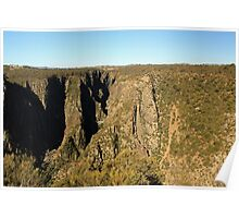Wollomombi falls and gorge Poster