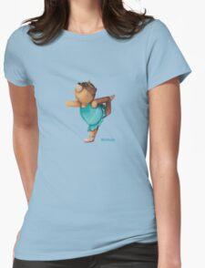 Mikhala dancing bear Womens Fitted T-Shirt
