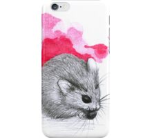 Red Hamster iPhone Case/Skin