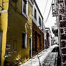 Alley by Apostolos Mantzouranis