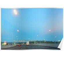UFO Freeway Poster