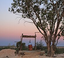 Sunset, Lightning Ridge by SharronS