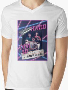 Saturday Every Day Mens V-Neck T-Shirt